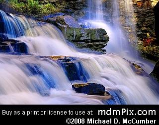 Pendleton Falls WV