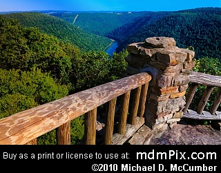 Coopers Rock Overlook (Overlooks)