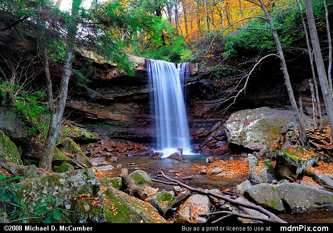 cucumber falls picture 058 october 25 2006 from