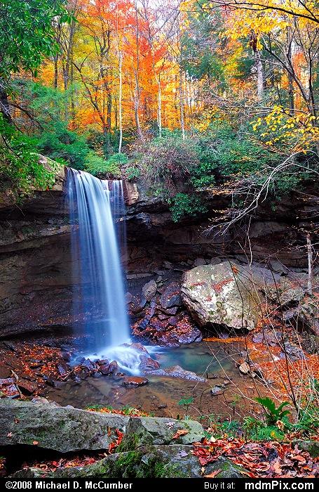 cucumber falls picture 066 october 25 2006 from