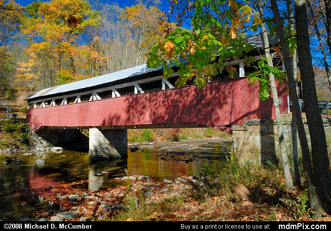 Lower Humbert Covered Bridge (012 - October 19, 2008)