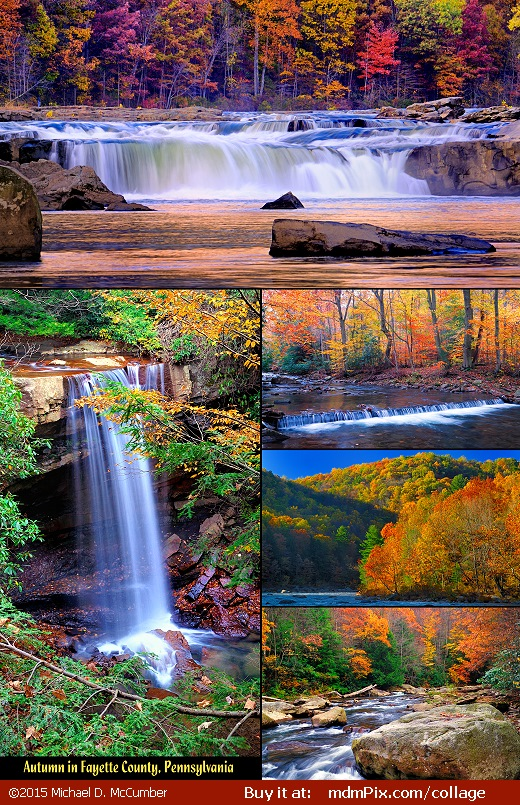 (Photo Collage: Autumn in Fayette County, Pennsylvania)
