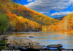 Laurel Ridge's Fall Foliage and the Youghiogheny River