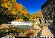 Slippery Rock Creek at McConnells Mill in Fall