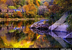 Youghiogheny River Autumn Reflections