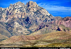 Organ Needle Peak; the Organ Mountains' Highest