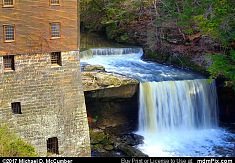 Lanterman's Mill and Falls at Mill Creek Park