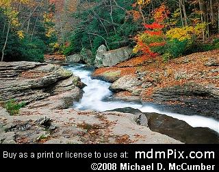 Meadow Run Natural Waterslides (Waterfalls) picture