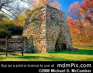 Wharton Iron Furnace Picture