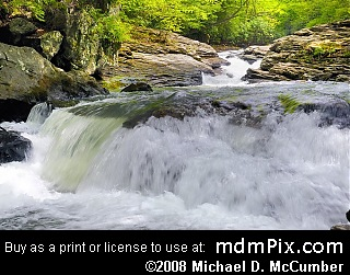 Meadow Run Natural Waterslides (Waterfalls) picture