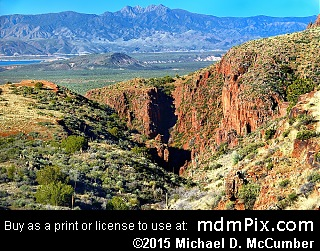 Four Peaks Mountain (Mountains) picture