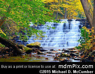 Jones Mill Run Dam (Waterfalls) picture