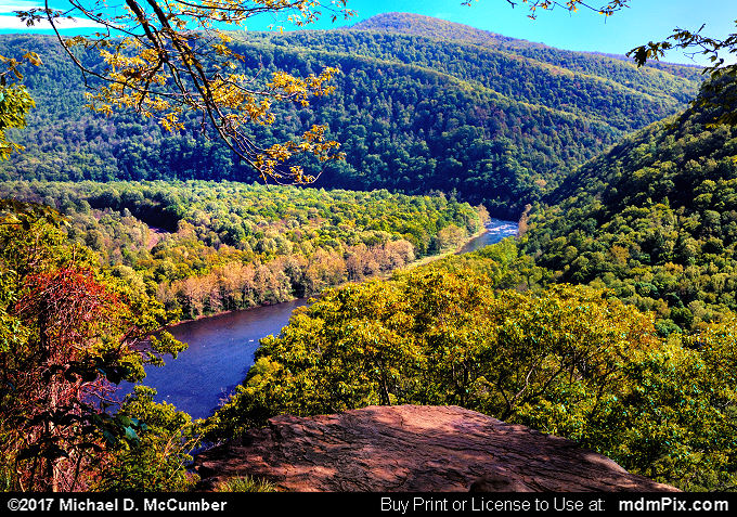 View from Laurel Highlands Trail Youghiogheny Overlook