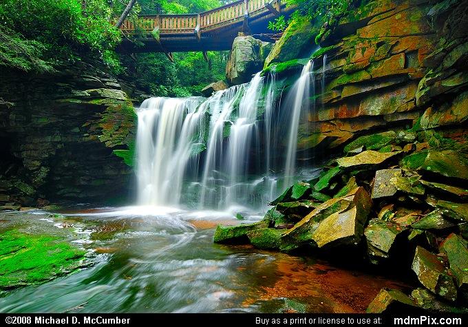 Elakala Falls Picture 003 September 3 2006 From