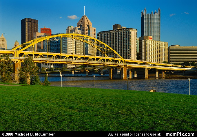 Fort Duquesne Bridge (Fort Duquesne Bridge Picture 007 - October 1, 2006 from Pittsburgh, Pennsylvania)