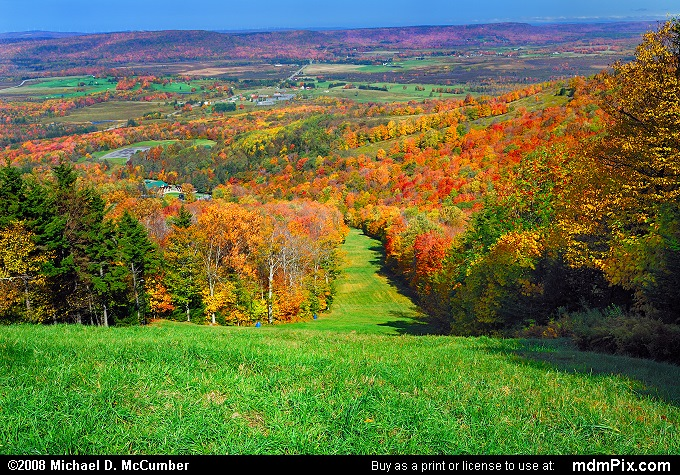 Canaan Valley Ski Resort Slopes Picture 015 October 8