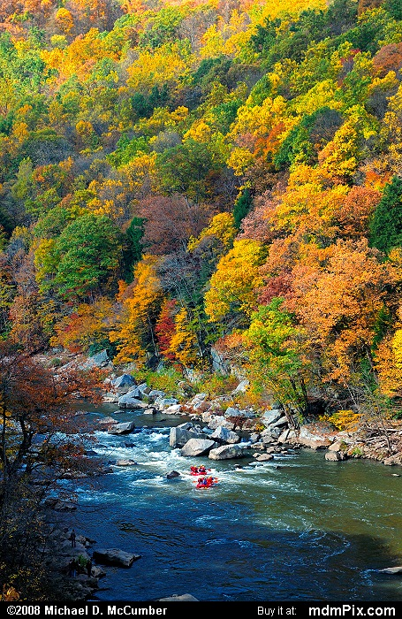 Youghiogheny River (Youghiogheny River Picture 011 - October 21, 2006 from Ohiopyle State Park, Pennsylvania)