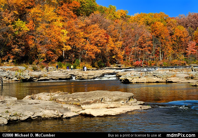 Ferncliff Peninsula (Ferncliff Peninsula Picture 031 - October 21, 2006 from Ohiopyle State Park, Pennsylvania)