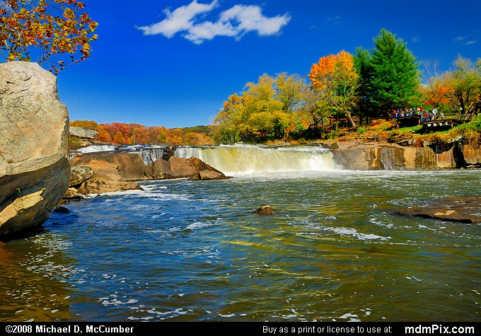Ohiopyle Falls (Ohiopyle Falls Picture 038 - October 21, 2006 from Ohiopyle State Park, Pennsylvania)