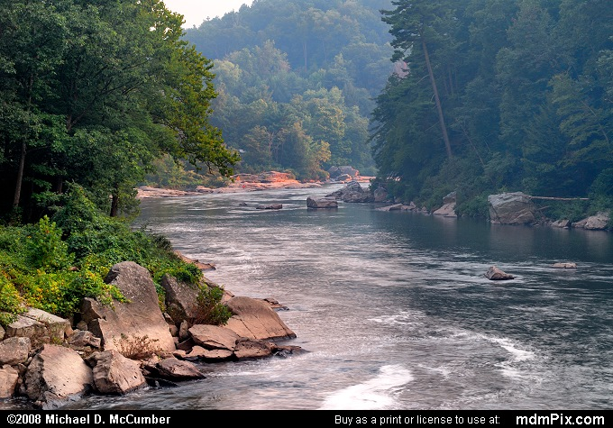 Youghiogheny River (Youghiogheny River Picture 002 - September 6, 2007 from Ohiopyle State Park, Pennsylvania)