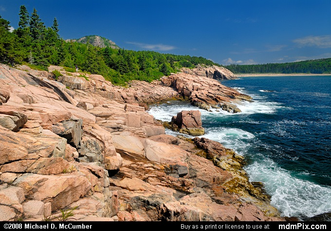 Pink Granite (Pink Granite Picture 012 - July 29, 2008 from Acadia National Park, Maine)