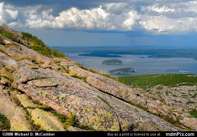 Storms Approaching Cadillac Mountain at Acadia