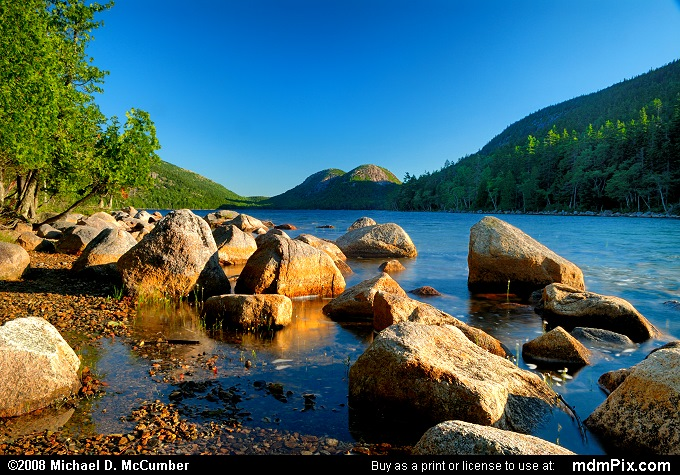 Jordan Pond (Jordan Pond Picture 014 - July 30, 2008 from Acadia National Park, Maine)