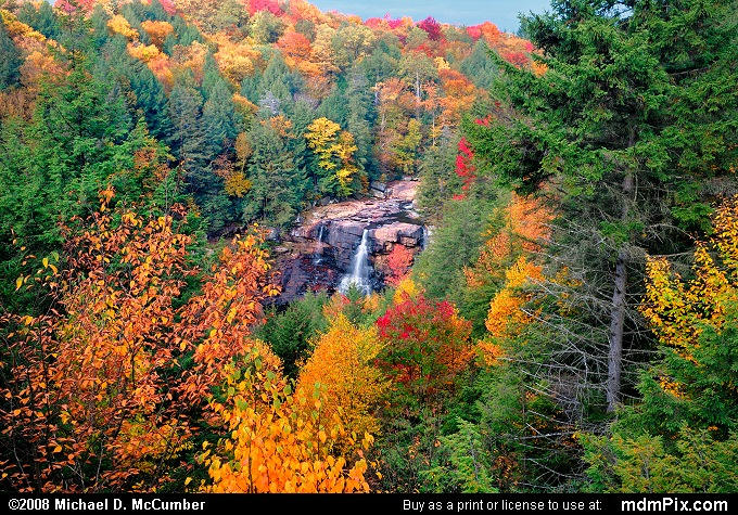 Gentle Trail Overlook (Gentle Trail Overlook Picture 002 - October 8, 2008 from Blackwater Falls State Park, West Virginia)