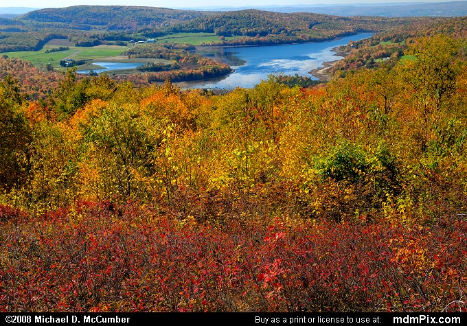 Mount Davis Lookout of High Point Lake (Mount Davis Lookout of High Point Lake Picture 023 - October 12, 2008 from Mt. Davis Natural Area)