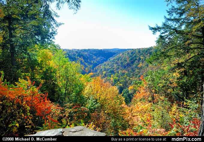 Slippery Rock Gorge Picture 036 October 20 2008 From