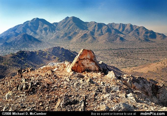 Golden Rock and San Tan Mountains