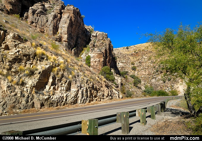 Catalina Highway (Catalina Highway Picture 008 - December 21, 2008 from Near Tucson, Arizona)