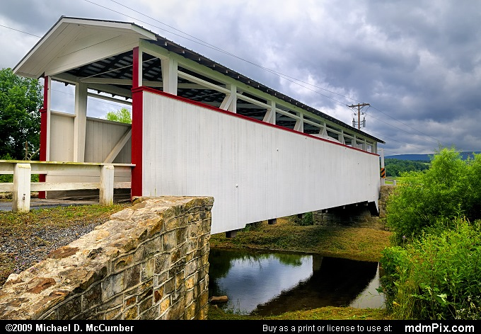 Ryot Covered Bridge (Ryot Covered Bridge Picture 009 - July 18, 2009 from Ryot, Pennsylvania)