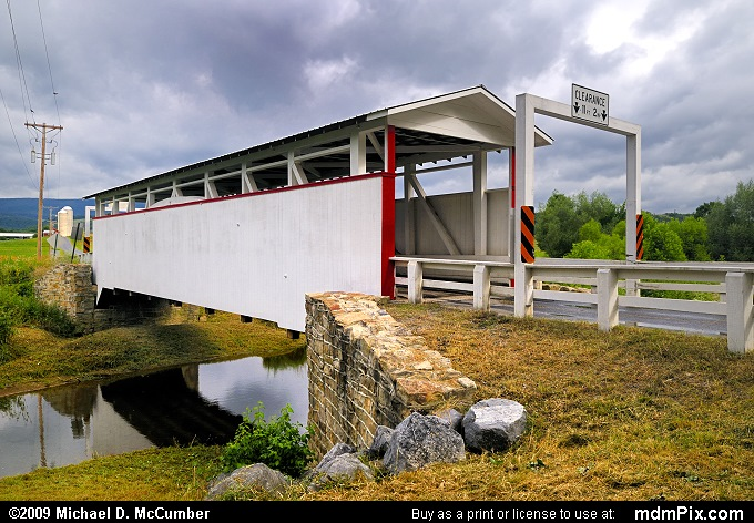 Ryot Covered Bridge (Ryot Covered Bridge Picture 012 - July 18, 2009 from Ryot, Pennsylvania)