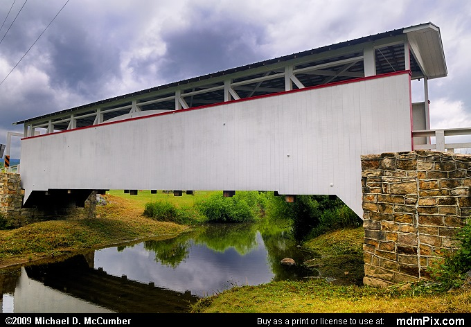 Ryot Covered Bridge (Ryot Covered Bridge Picture 013 - July 18, 2009 from Ryot, Pennsylvania)