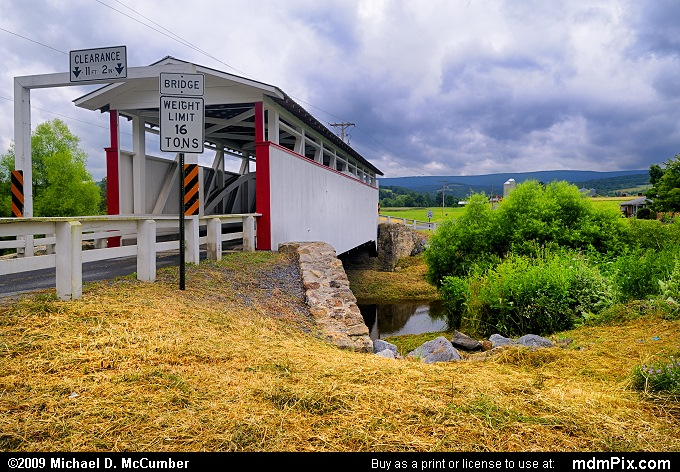 Ryot Covered Bridge (Ryot Covered Bridge Picture 016 - July 18, 2009 from Ryot, Pennsylvania)
