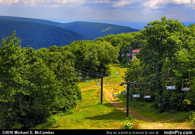 Blue Knob Mountain Picture 041 - July 18, 2009 from Blue ...