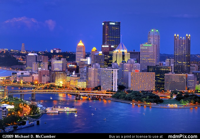 Allegheny River Portion of Pittsburgh's Skyline