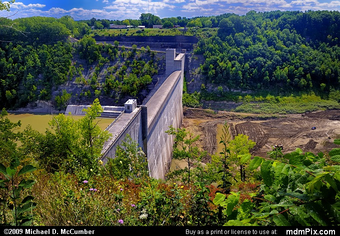 Mt Morris Dam Picture 008 September 1 2009 From