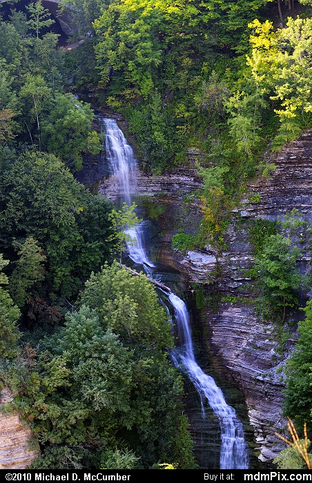 Inspiration Falls (Inspiration Falls Picture 039 - September 2, 2009 from Letchworth State Park, New York)