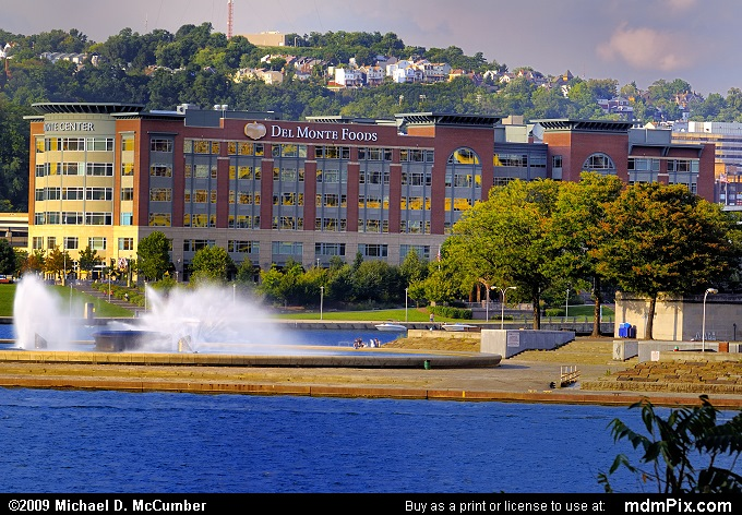 Three Rivers Point Fountain (Three Rivers Point Fountain Picture 007 - September 13, 2009 from Pittsburgh, Pennsylvania)