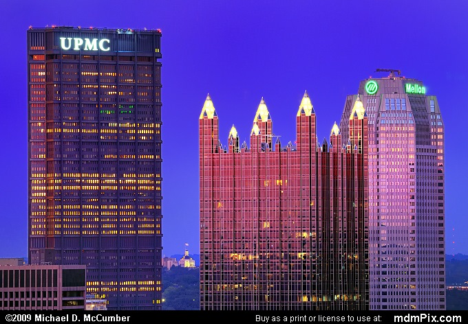 Three Iconic Pittsburgh Skyscrapers