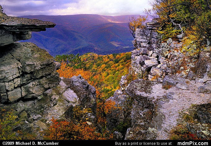Allegheny Front (Allegheny Front Picture 010 - October 13, 2009 from Spruce Knob/Seneca Rocks National Recreation Area)