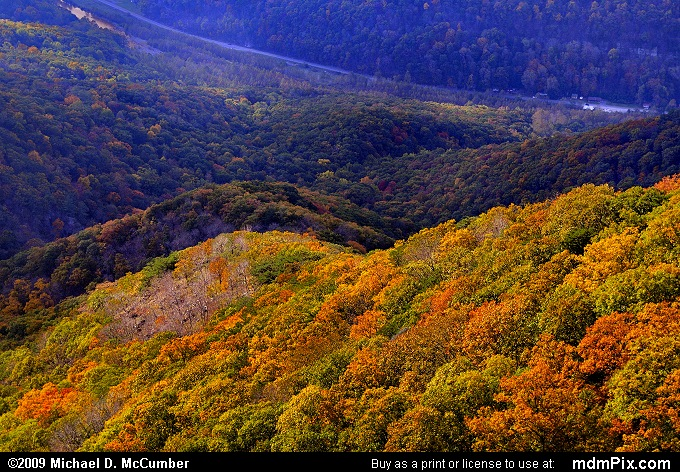 North Fork Valley (North Fork Valley Picture 086 - October 13, 2009 from Spruce Knob/Seneca Rocks National Recreation Area)
