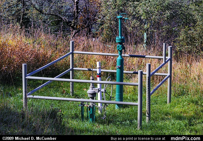 Gas Well (Gas Well Picture 068 - October 22, 2009 from South Union Township (Fayette County), Pennsylvania)