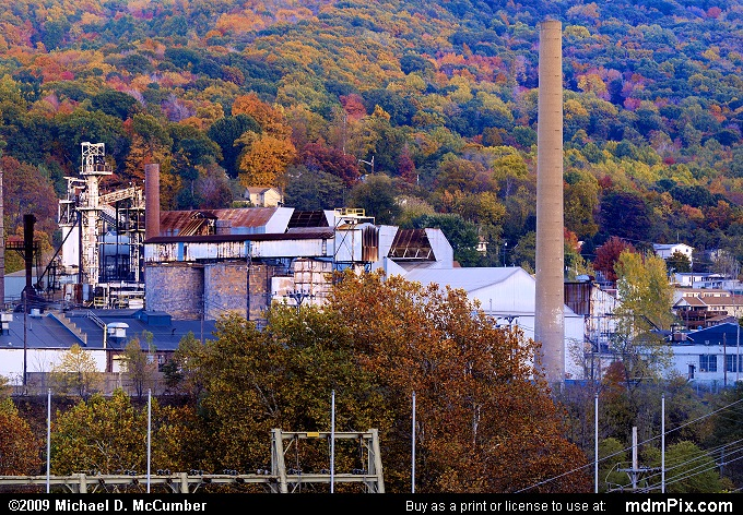 Anchor Hocking Glass South Connellsville Plant (Anchor Hocking Glass South Connellsville Plant Picture 114 - October 22, 2009 from Dunbar Township, Pennsylvania)