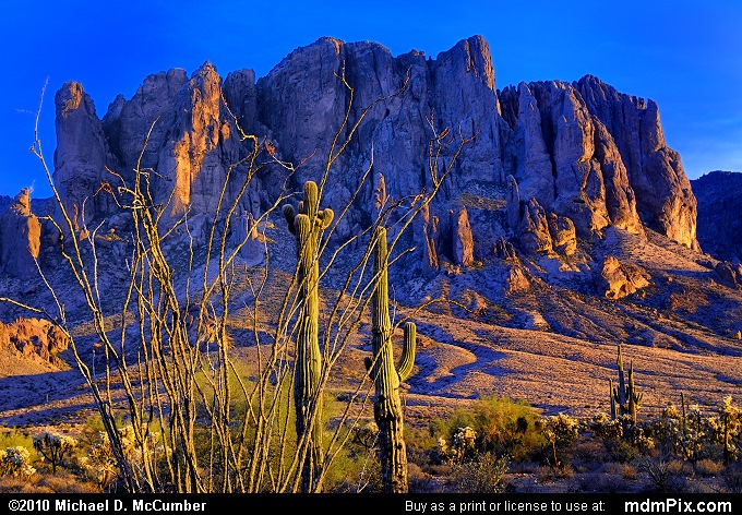 Superstition Mountain ...