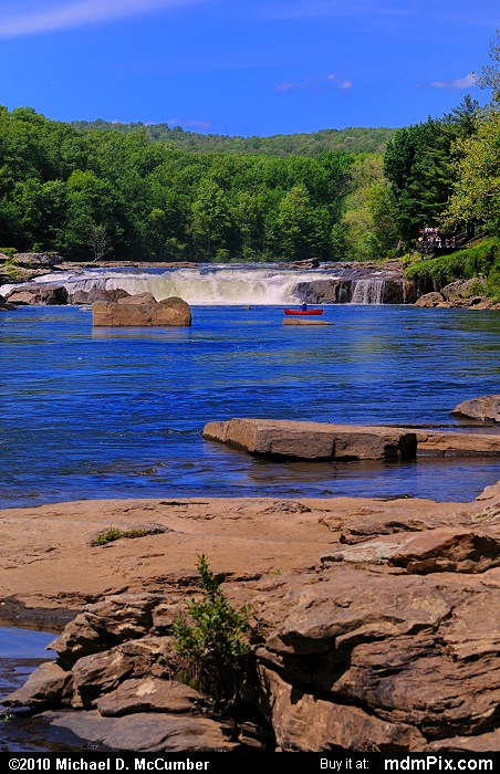 Ohiopyle Falls (Ohiopyle Falls Picture 015 - May 15, 2010 from Ohiopyle State Park, Pennsylvania)