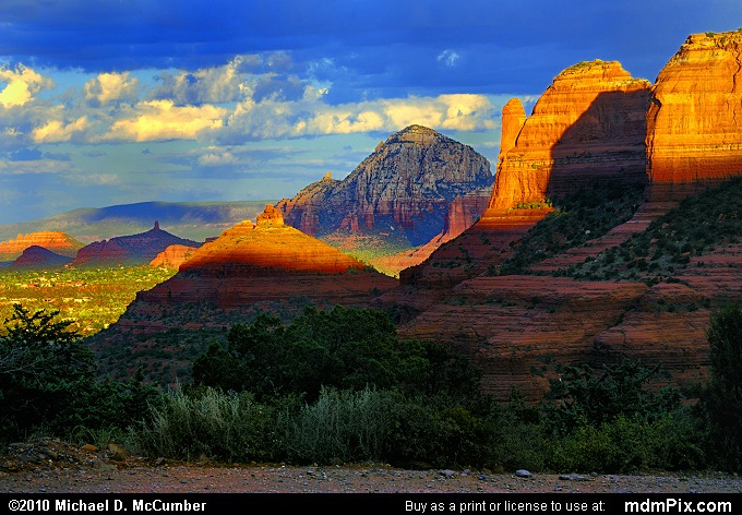 Schnebly Hill Road (Schnebly Hill Road Picture 002 - September 20, 2010 from Sedona, Arizona)