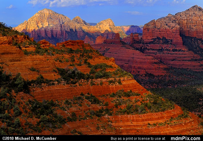 Schnebly Hill Road (Schnebly Hill Road Picture 045 - September 20, 2010 from Sedona, Arizona)
